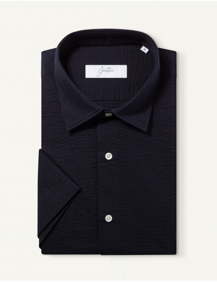 Chemise Gaston Contemporaine marine